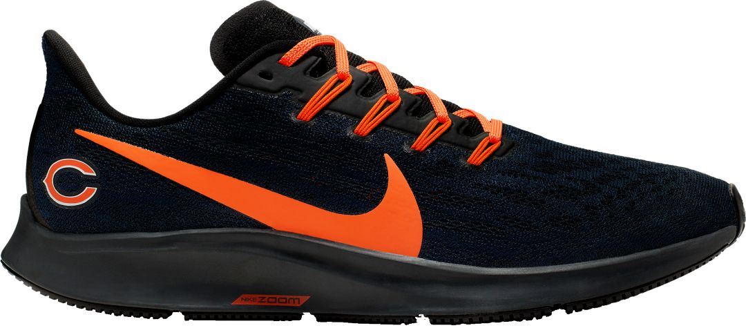 check out 710fc b4f43 Nike Men's Chicago Bears Air Zoom Pegasus 36 Running Shoes