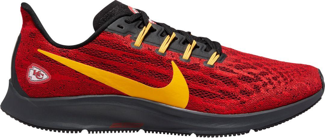 new product 1b13d 75a08 Nike Men's Kansas City Chiefs Air Zoom Pegasus 36 Running Shoes