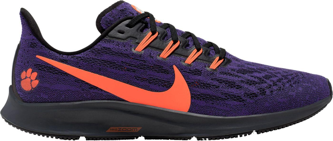 Nike Men's Clemson Air Zoom Pegasus 36 Running Shoes