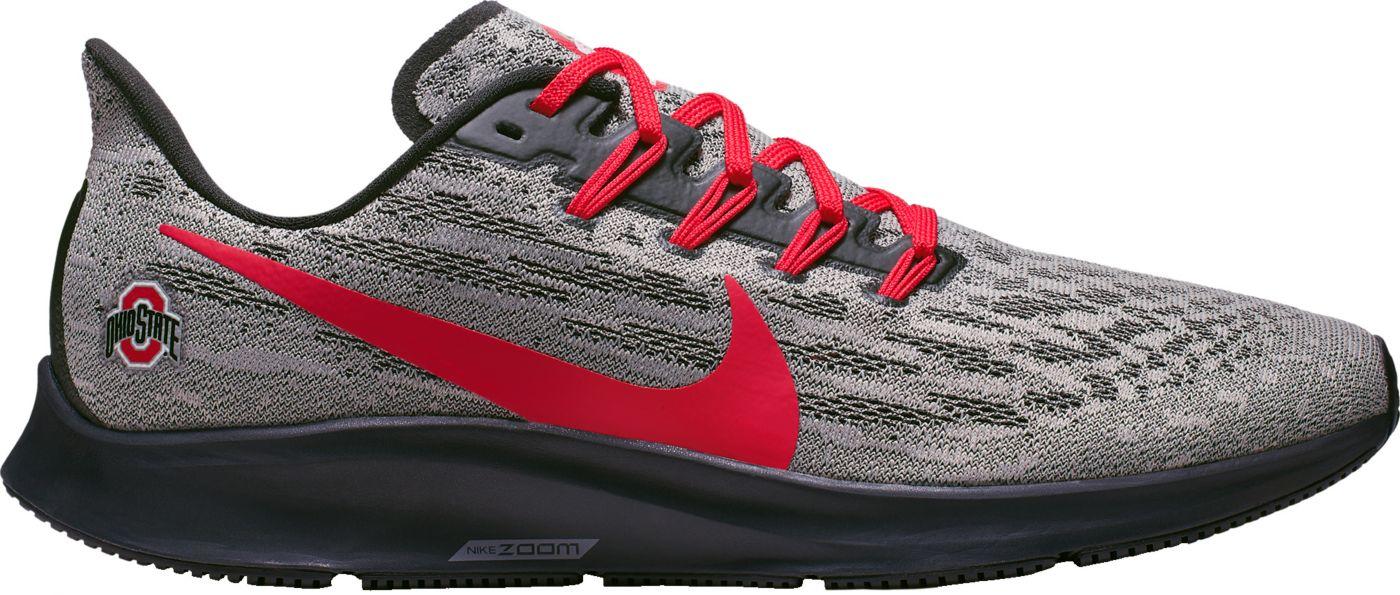 Nike Men's Ohio State Air Zoom Pegasus 36 Running Shoes
