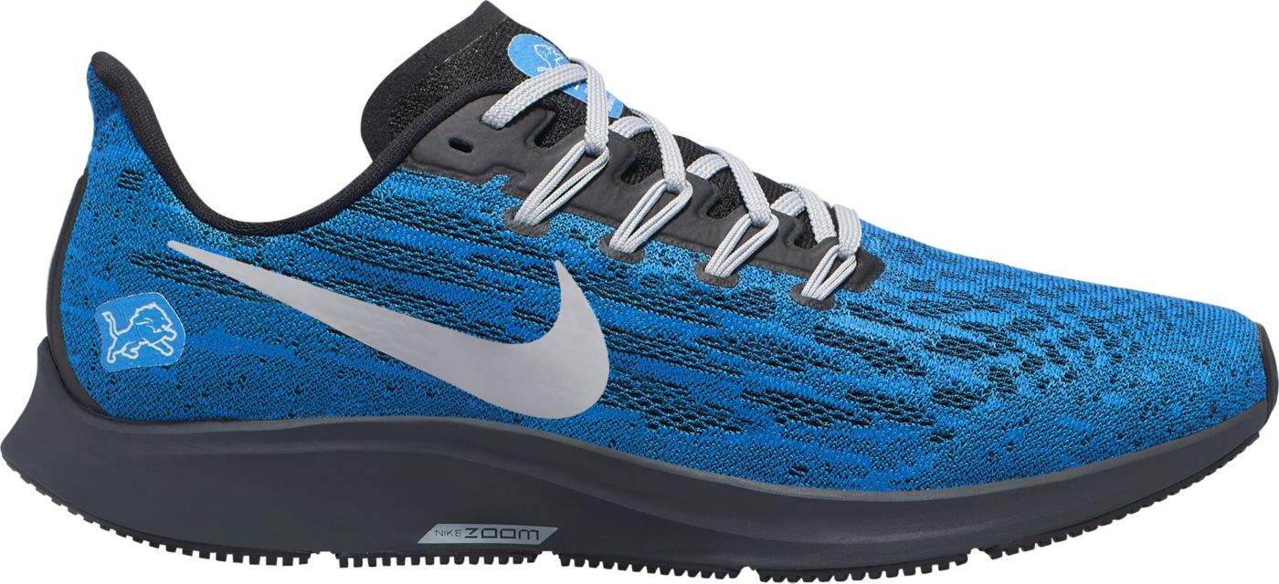 Nike Men's Detroit Lions Air Zoom Pegasus 36 Running Shoes