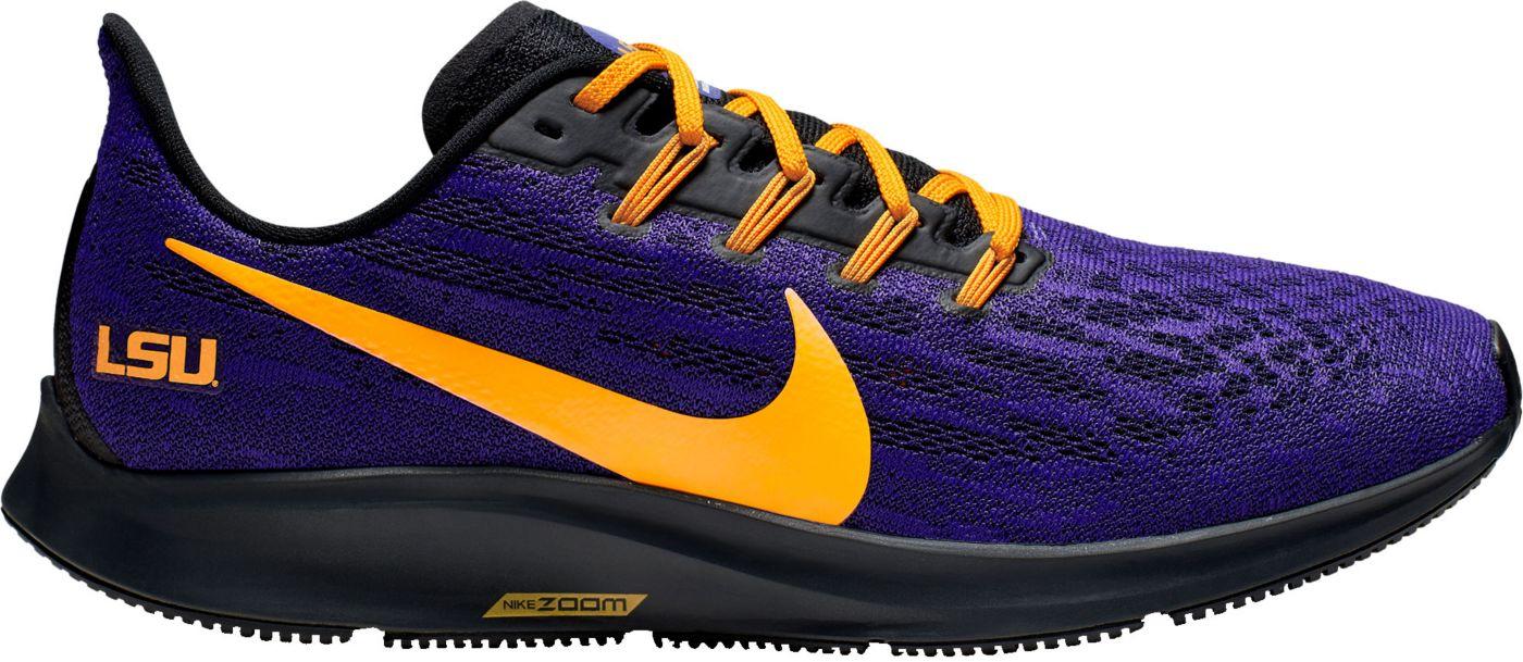 Nike Men's LSU Air Zoom Pegasus 36 Running Shoes