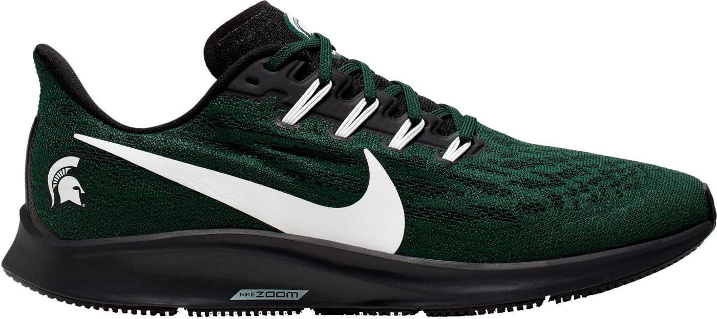 Nike Men's Michigan State Air Zoom Pegasus 36 Running Shoes