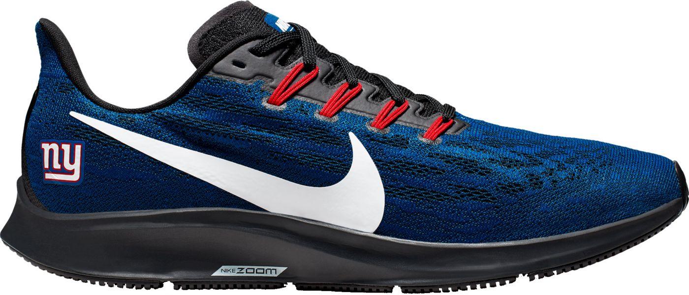 Nike Men's New York Giants Air Zoom Pegasus 36 Running Shoes