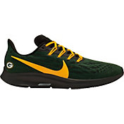 Nike Men's Green Bay Packers Air Zoom Pegasus 36 Running Shoes