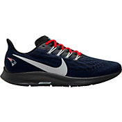 Nike Men's New England Patriots Air Zoom Pegasus 36 Running Shoes