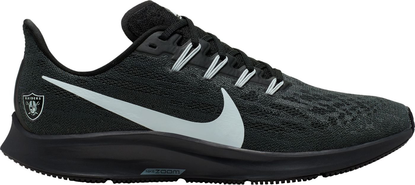 Nike Men's Oakland Raiders Air Zoom Pegasus 36 Running Shoes