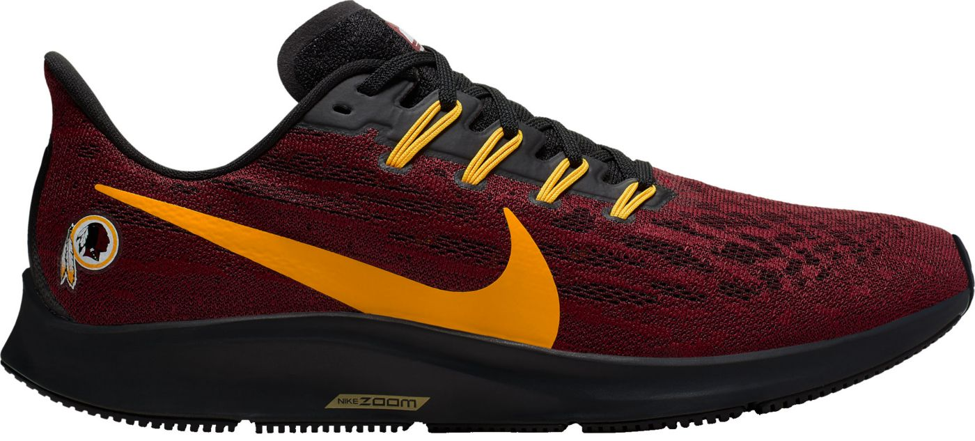 Nike Men's Washington Redskins Air Zoom Pegasus 36 Running Shoes