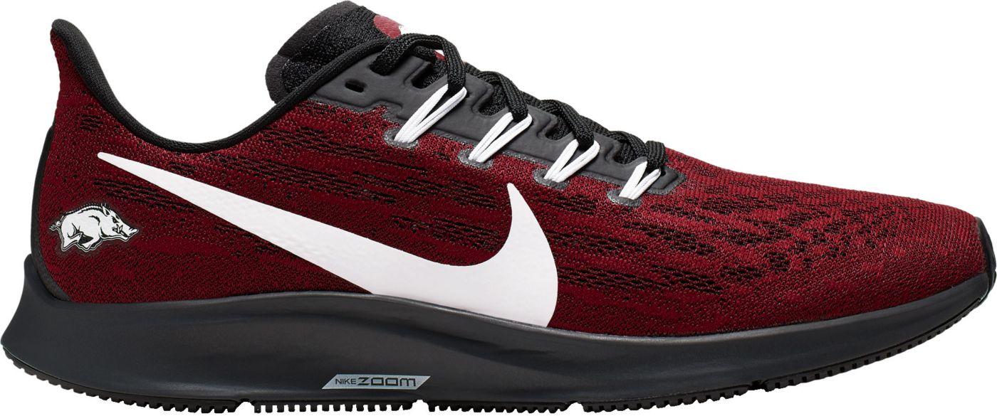 Nike Men's Arkansas Air Zoom Pegasus 36 Running Shoes