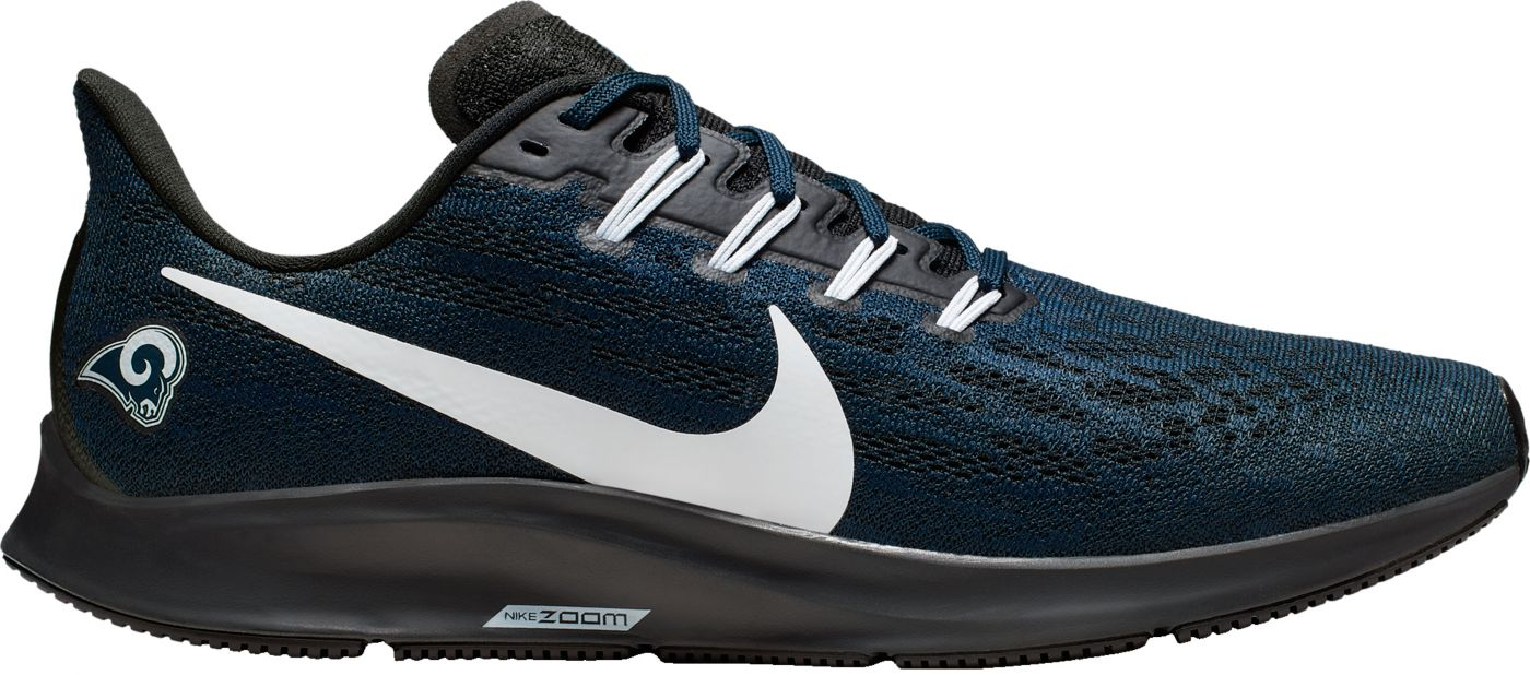 Nike Men's Los Angeles Rams Air Zoom Pegasus 36 Running Shoes