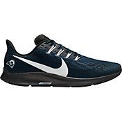 Nike Men's Los Angeles Rams Air Zoom Pegasus 36 Running Shoes