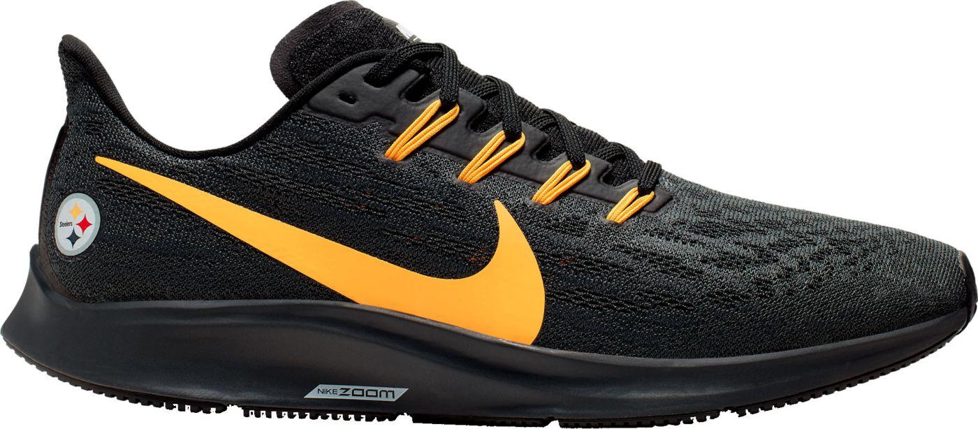 Nike Men's Pittsburgh Steelers Air Zoom Pegasus 36 Running Shoes