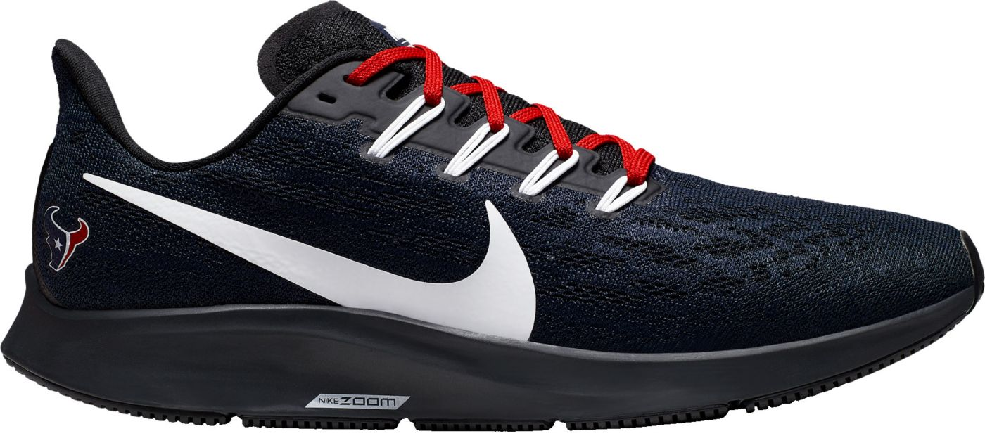 Nike Men's Houston Texans Air Zoom Pegasus 36 Running Shoes