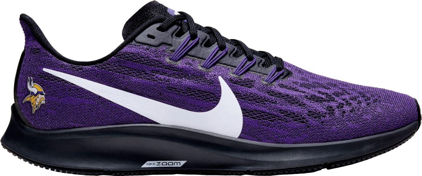 Nike Men's Minnesota Vikings Air Zoom Pegasus 36 Running Shoes