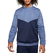 Nike Men's Shield Victory Crewneck Golf Pullover