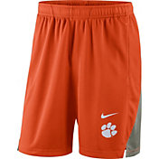Nike Men's Clemson Tigers Orange Franchise Shorts