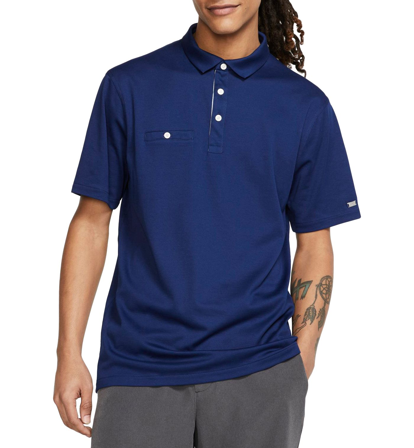 Nike Men's Solid Player Golf Polo