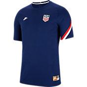 Nike Men's USA '20 Prematch Navy Performance Shirt