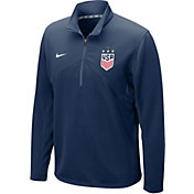 Nike Men's 2019 FIFA Women's World Cup USA Soccer 4-Star Training Quarter-Zip Shirt