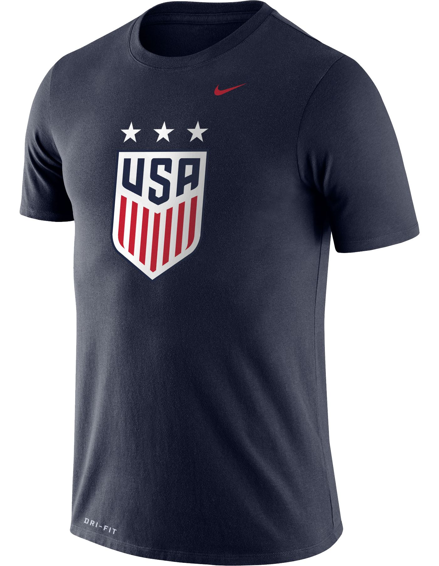Nike Men's USA Soccer Crest Navy T-Shirt