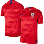 Nike Men's 2019 FIFA Women's World Cup USA Soccer 4-Star Breathe Stadium Away Replica Jersey