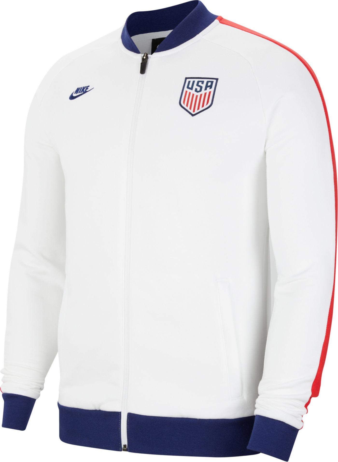 Nike Men's USA Soccer White Track Jacket