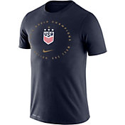 Nike Men's 2019 FIFA Women's World Cup Champions USA Soccer Navy T-Shirt