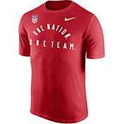Nike Men's 2019 FIFA Women's World Cup USA Soccer One Team Red T-Shirt
