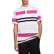 Nike Men's Striped Player Golf Polo