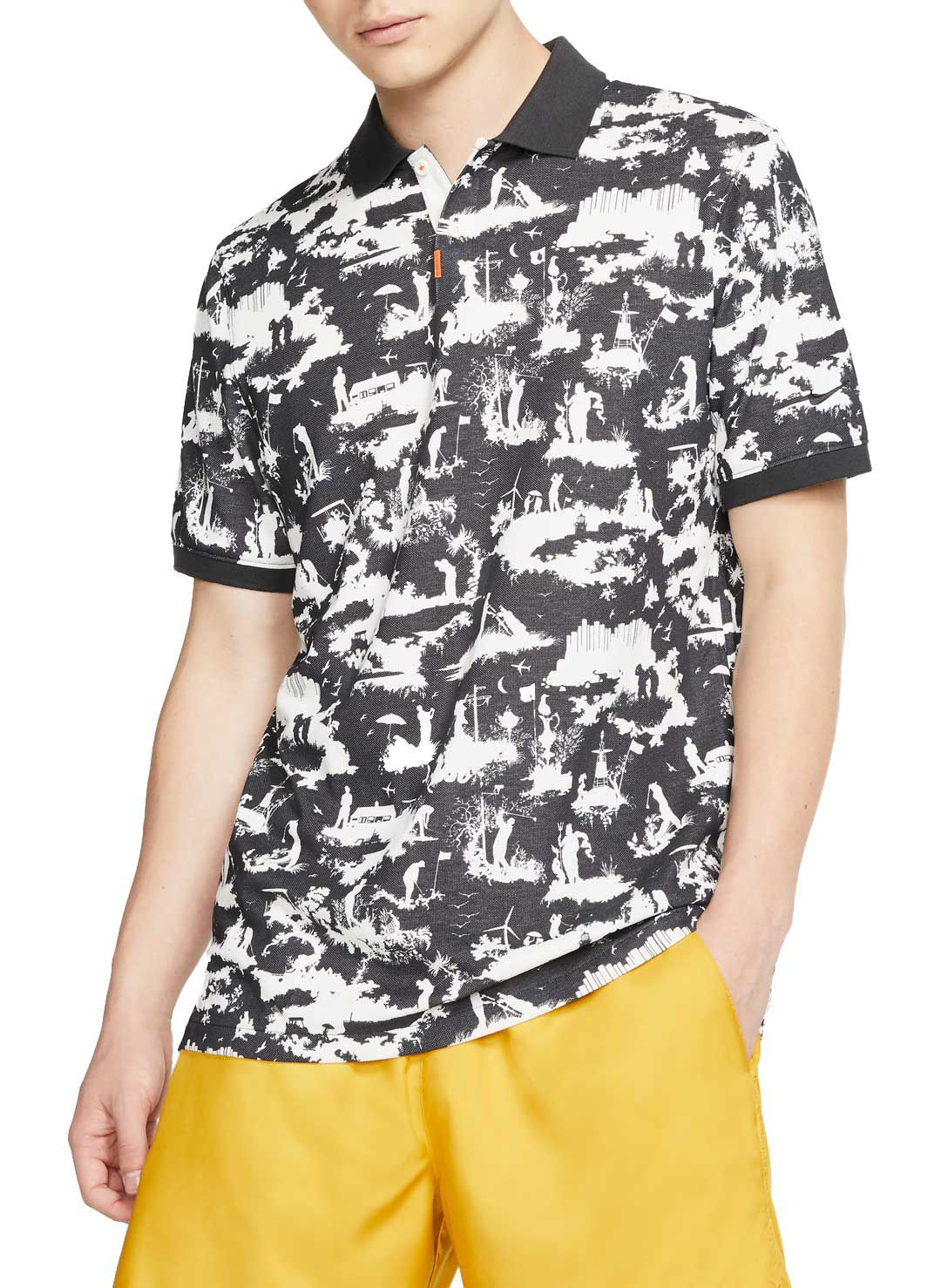 check-out 4718f ab19b Nike Men's Toile Print Golf Polo | DICK'S Sporting Goods