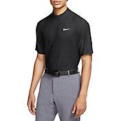 Nike Men's Tiger Woods Dri-FIT Mock-Neck Golf Polo