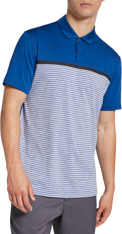 6de62bd707 Nike Men's Tiger Woods Striped Block Golf Polo | Golf Galaxy