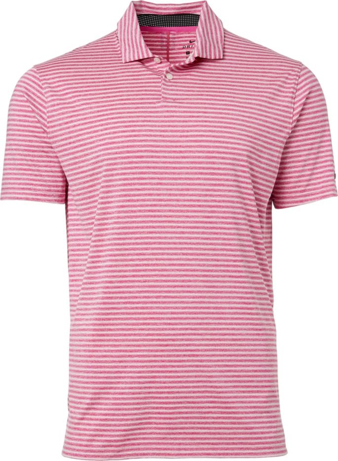 61cb9c5551 Nike Men's Tiger Woods Vapor Stripe Golf Polo | Golf Galaxy