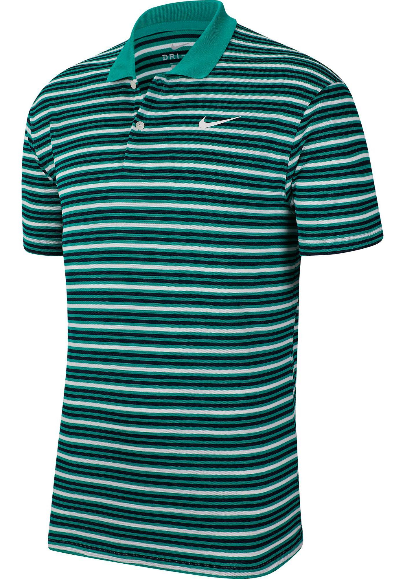 Nike Men's Dri-FIT Victory Striped Golf Polo