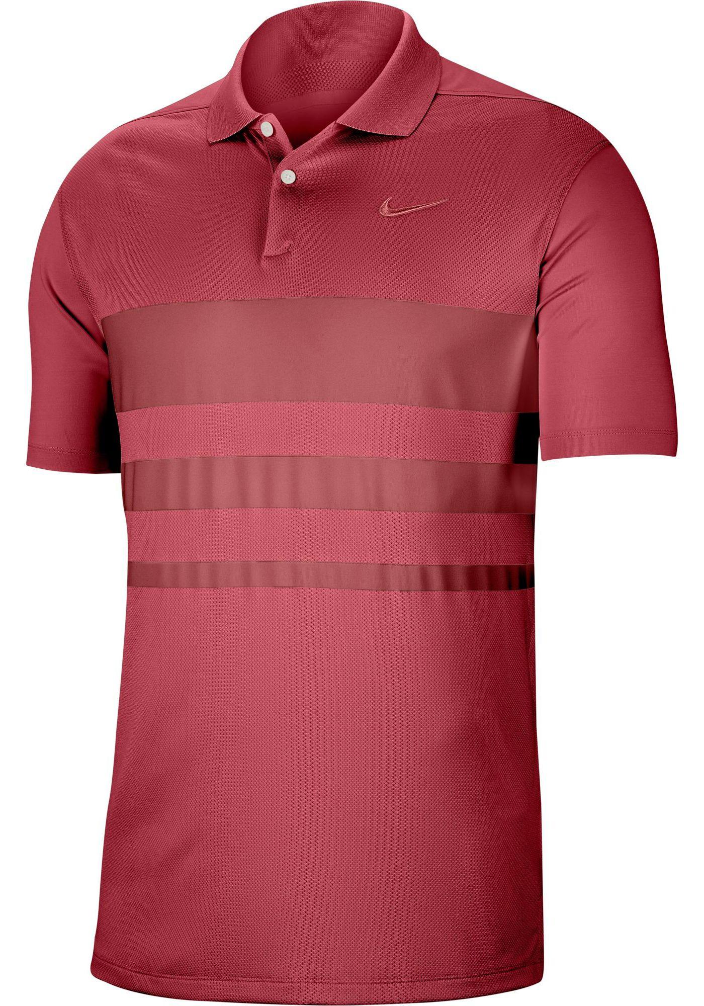 Nike Men's Dri-FIT Vapor Striped Golf Polo
