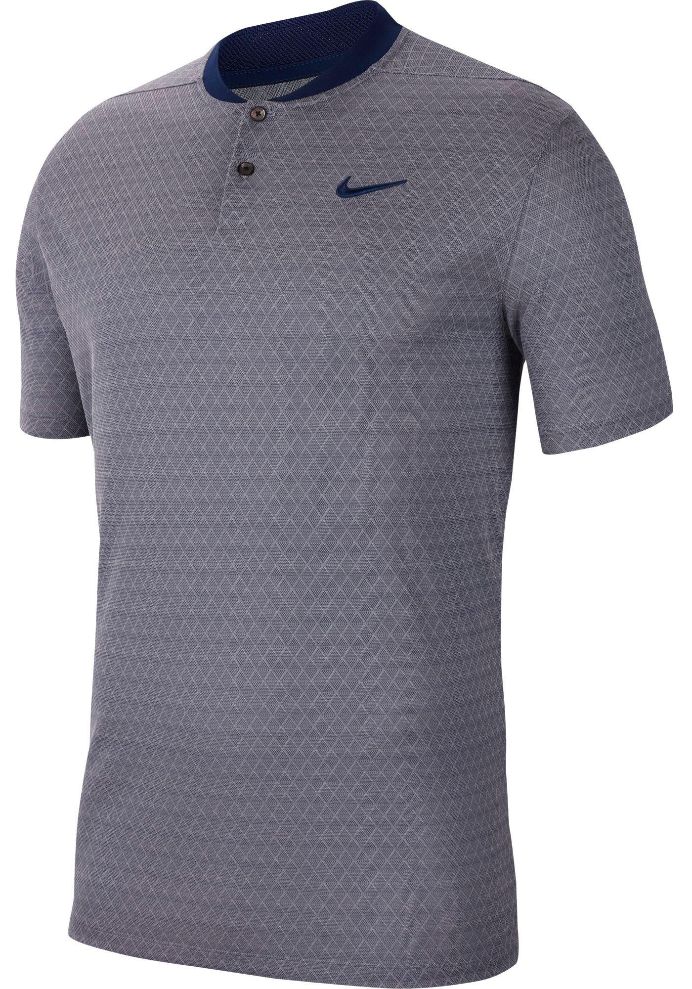 Nike Men's Dri-FIT Vapor Blade Print Golf Polo