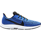 Nike Men's Air Zoom Pegasus 36 Running Shoes in Blue/Black