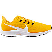 Nike Men's Air Zoom Pegasus 36 Running Shoes in Gold/Black
