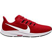 Nike Men's Air Zoom Pegasus 36 Running Shoes in Red/White/Black