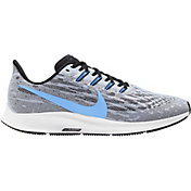 Nike Men's Air Zoom Pegasus 36 Running Shoes in White/Blue/Black