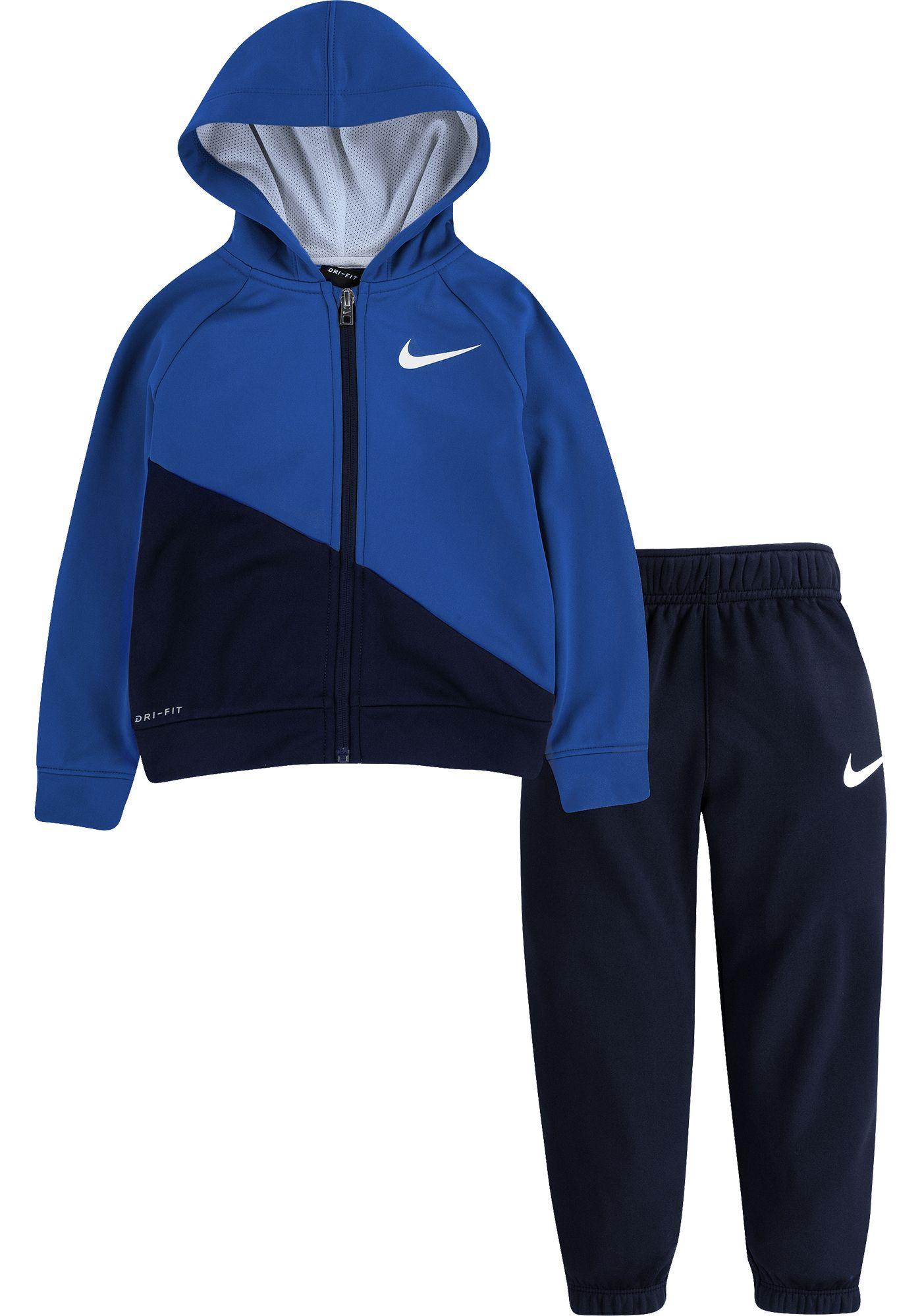 Nike Toddler Boys' Therma Fleece Zip Hoodie and Pants Set