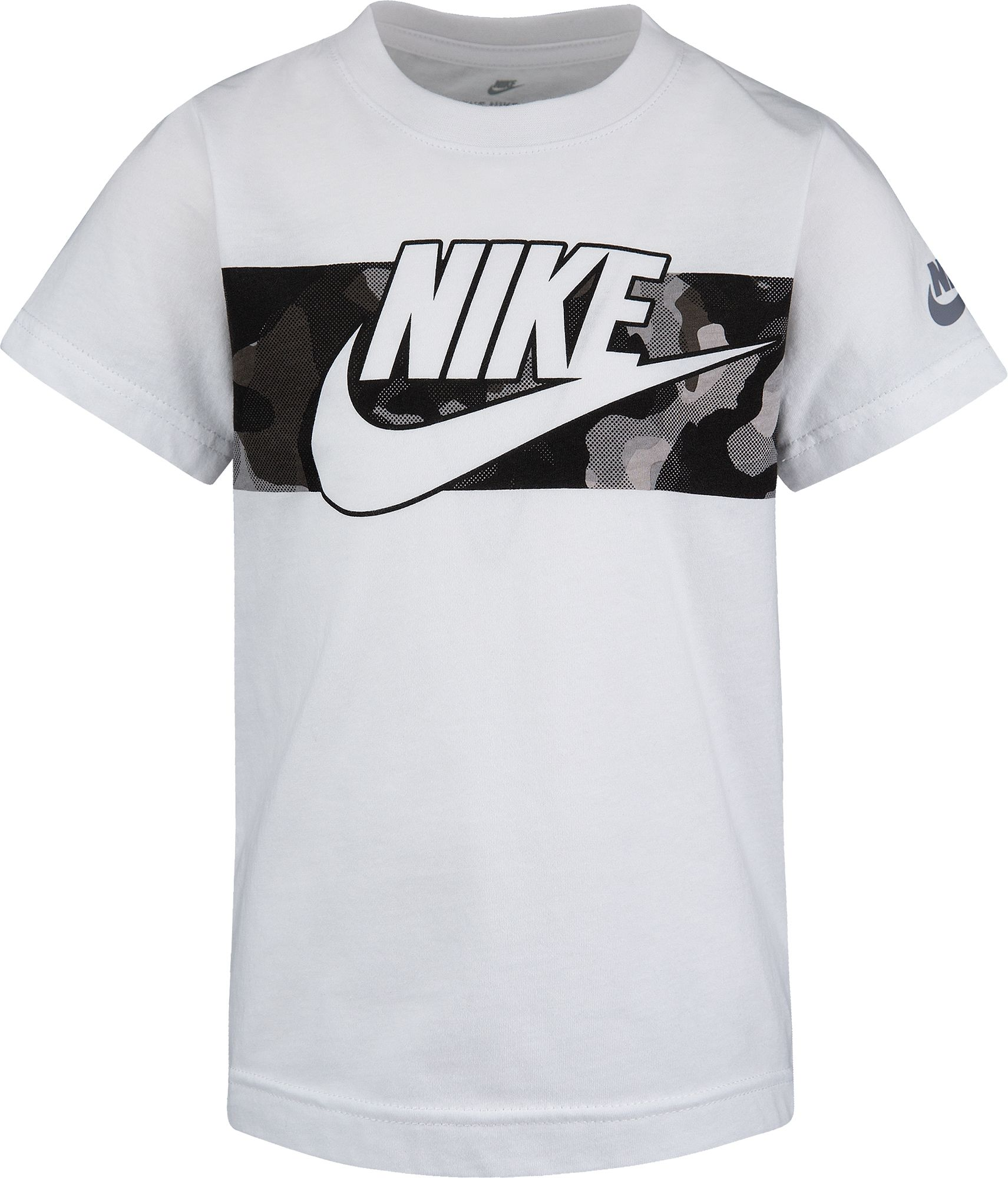 Nike Toddler Boys' Camo Graphic T-Shirt, Boy's, Size: 2T, White thumbnail