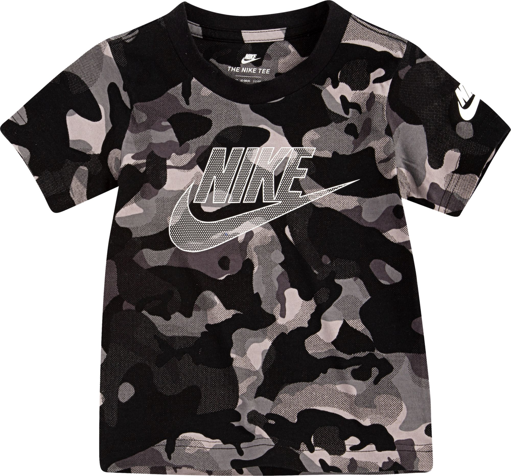 Nike Toddler Boys' Camo Graphic T-Shirt, Boy's, Size: 2T, Black thumbnail