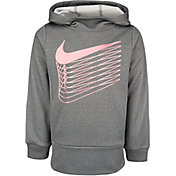 Nike Little Girls' Therma Fleece Tunic Hoodie