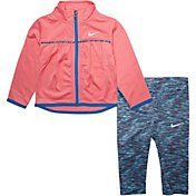 Nike Little Girls' Tricot Zip Jacket and Leggings Set