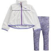 Nike Little Girls' Tricot Zip Jacket and Leggings Set