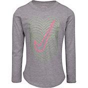 Nike Little Girls' Color Shift Graphic Long Sleeve Shirt