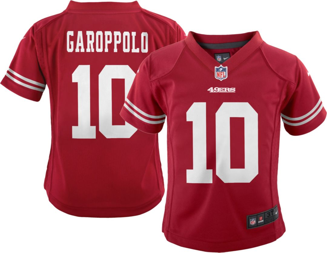 cheaper 99e6f d8291 Nike Toddler Home Game Jersey San Francisco 49ers Jimmy Garoppolo #10