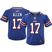 Nike Toddler Home Game Jersey Buffalo Bills Josh Allen #17
