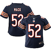 Nike Toddler Chicago Bears Khalil Mack #52 Navy Game Jersey
